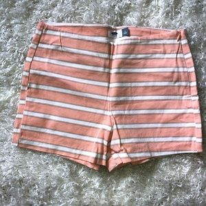 Striped shorts size 4!